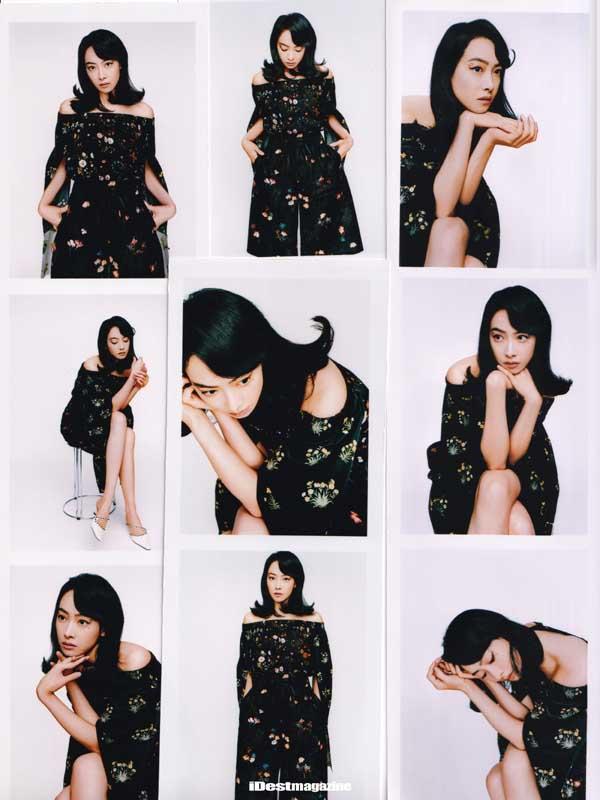 宋茜化身复古女郎登杂志封面,别致眼妆诠释多面摩登魅力