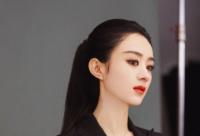 近段时间赵丽颖的酷飒造型引起了较大热议