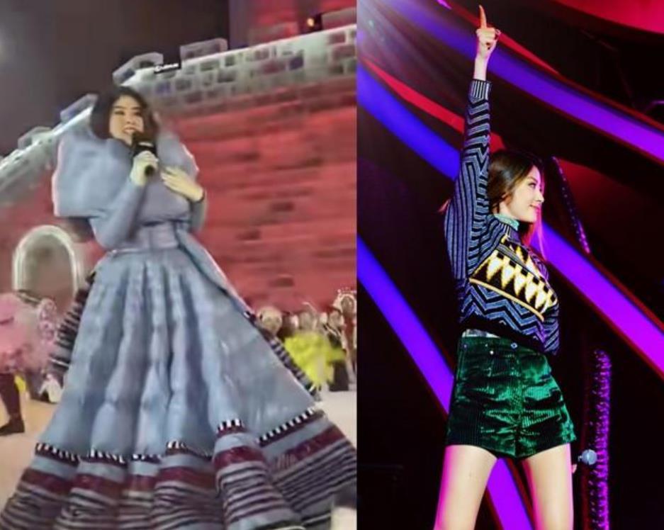 陈慧琳零下20 ℃登台表演,冻出表情包面目狰狞