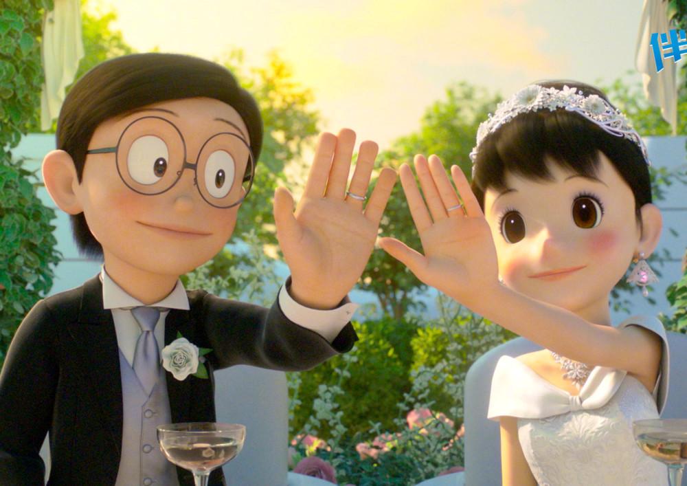 《哆啦A梦》大雄静香结束50年爱情长跑,我的青春小鸟一样不回来