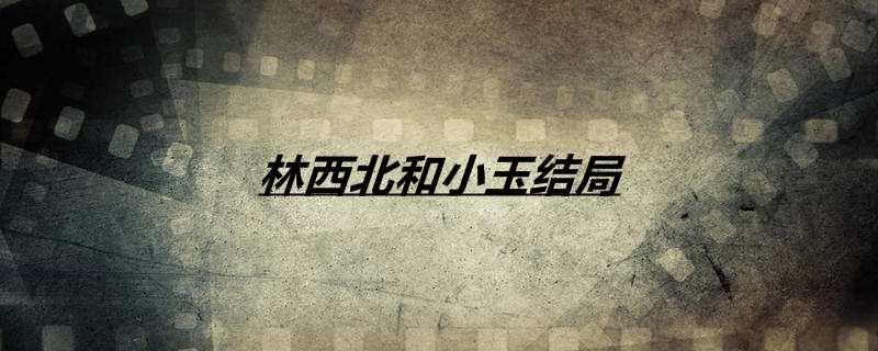 《【恒耀平台网】林西北和小玉结局》