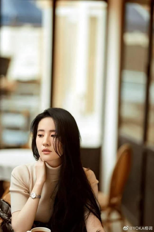 """【美天棋牌】33岁刘亦菲太柔媚了 """"神仙姐姐""""魅力十足"""