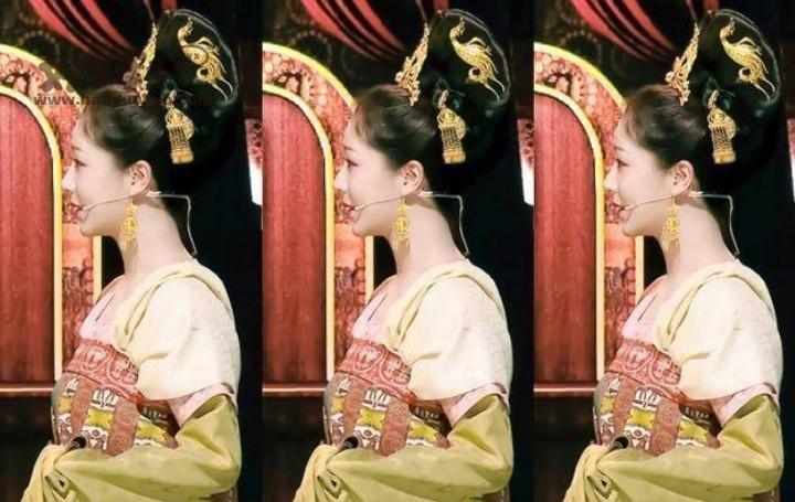 杨紫文成公主造型惊艳众人 美艳又充满了华贵之气