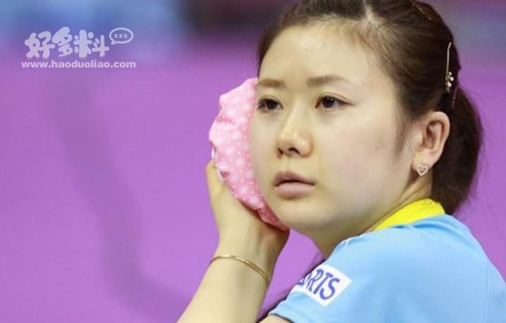 女乒乓球员谁颜值最高 长相甜美的她被大众称作瓷娃娃