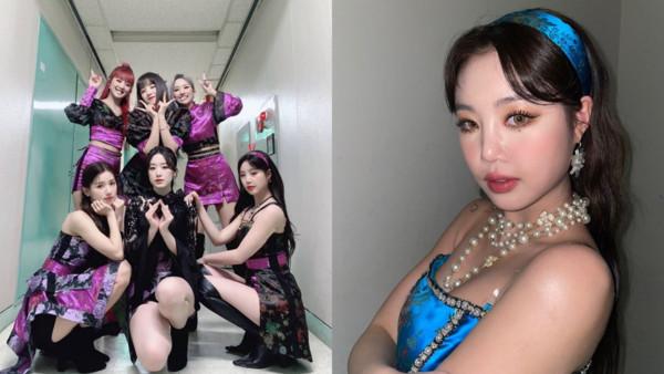 光辉平台主管(G)I-DLE新歌2月底MV都拍了 成员5人重新录音穗珍彻底消失