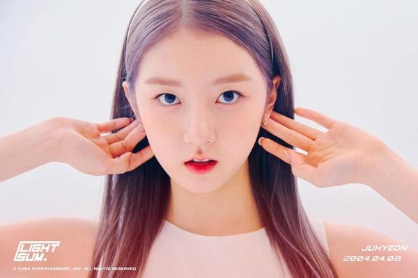 光辉平台主管Cube新女团LIGHTSUM超正俩成员曝光