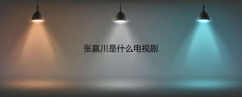张赢川是什么电视剧