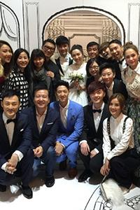 古巨基婚礼惊动半个香港娱乐圈 群星晒合影