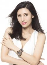女神李嘉欣最新写真 玩转手表显优雅