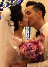戚薇李承铉美国教堂举行婚礼 戚哥含泪化身小女人