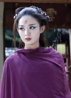 《花千骨》赵丽颖遭囚禁 虐变紫衣妖神
