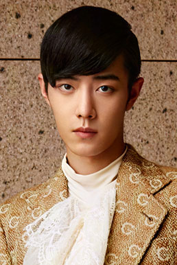 肖战《时尚芭莎》宫廷风写真 化身优雅小王子