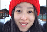 奶茶妹妹纯素颜录小视频 戴毛线小红帽软萌可爱