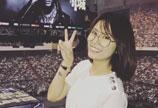 林心如与郑元畅等好友一同观看郭富城演唱会
