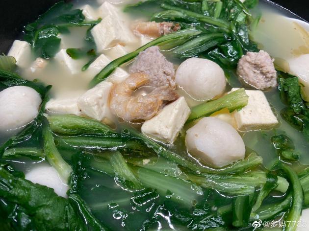 黄磊为孙莉做的汤