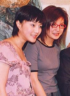 琼瑶晒还珠时期合影 赵薇林心如范冰冰显青涩