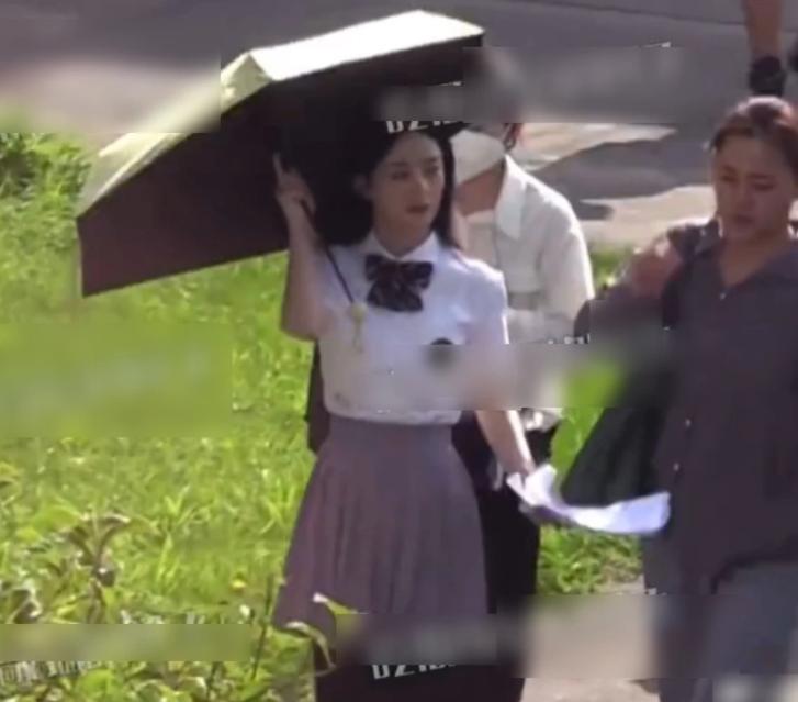赵丽颖和张杰合作新MV,现场照片曝光